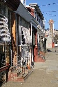 rebuilding communities. Street scene, Camden, NJ