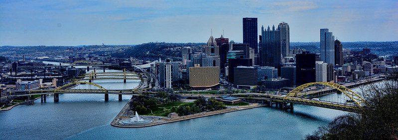 panoramic view of Pittsburgh