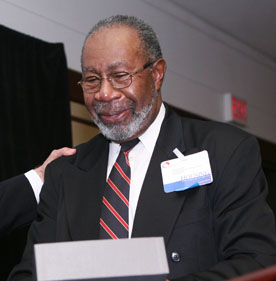 George Moses, chairman of the board of the National Low Income Housing Coalition