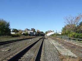 transit-oriented development. Photo shows Uphams Corner, part of Boston's Dorchester neighborhood