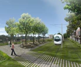 A rendering of the Atlanta Beltline