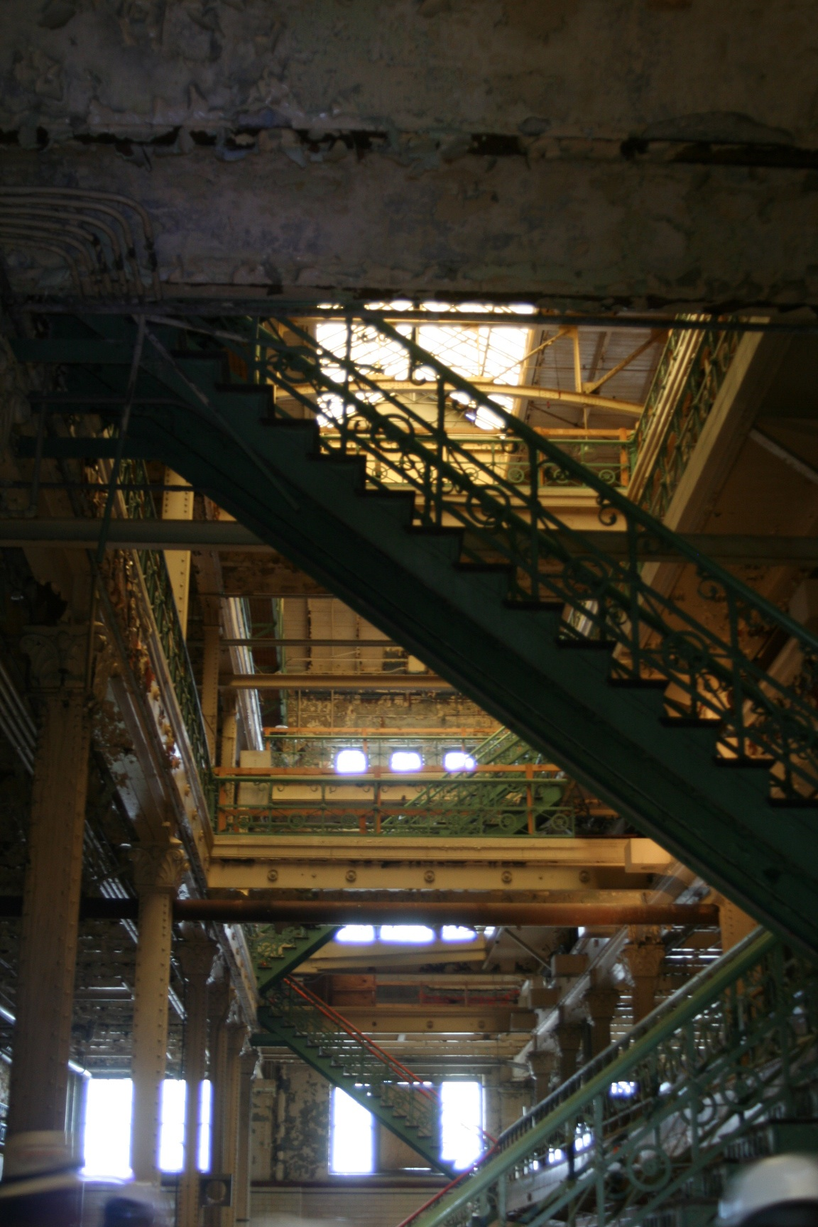 Interior of the Brew House in Milwaukee