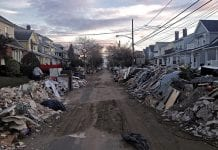 destruction caused by Hurricane Sandy