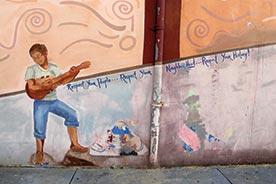 public art: image of mural