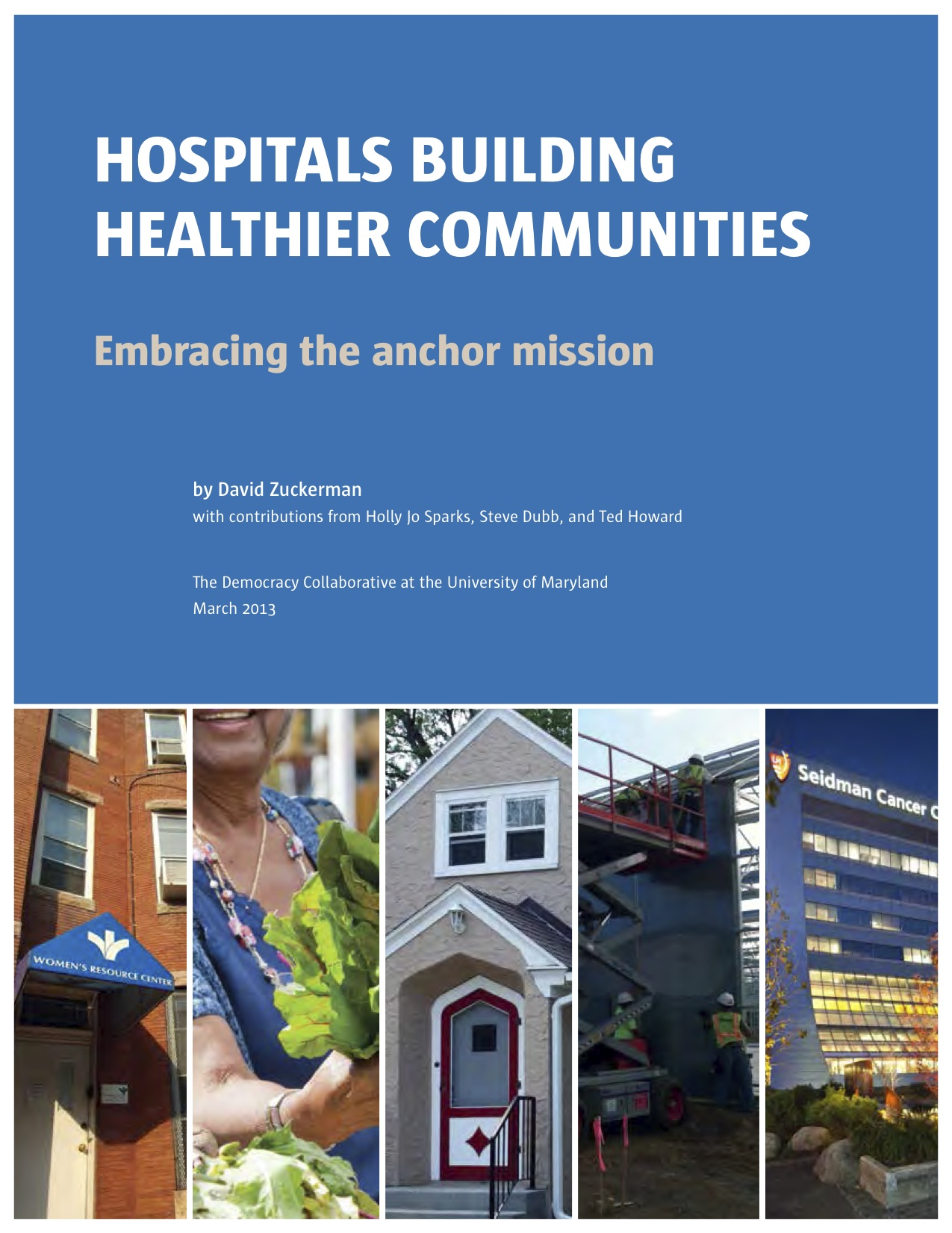The Affordable Care Act: Implications for Community