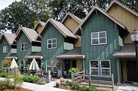 community development intermediaries. Image shows apartments in Portland, Oregon