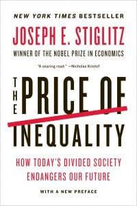 "book cover Joseph Stiglitz's ""The Price of Inequality"""