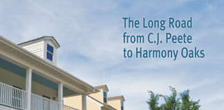 The cover of The Long Road from C.J. Peete to Harmony Oaks