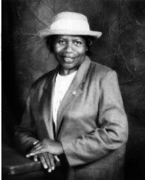 image shows Willie Mae Gaskin, a participant in the Rebuilding Communities Initiative