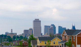 The John Henry Hale Homes development in Nashville, Tennessee.