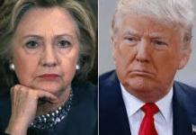 The 2016 election: Hillary Clinton versus Donald Trump.
