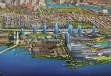 A rendering of what Port Covington would look like once the decades-long project is completed.