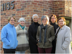 group of women from tenant organization