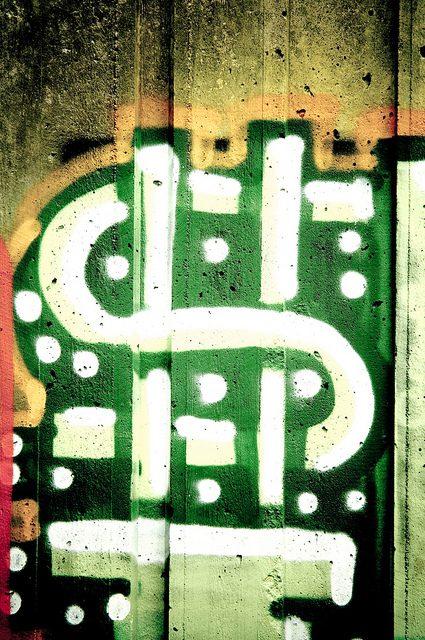dollar sign graffiti