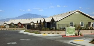 Rancho Lindo, an apartment complex in the San Joaquin Valley in California.