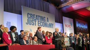 A photo from the National Community Reinvestment Coalition conference
