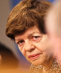 Close-up photo of Alice Rivlin.