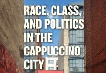 Cover image of Race, Class, and Politics in The Cappuccino City.