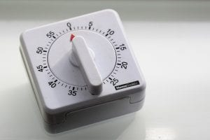 Photo of a timer