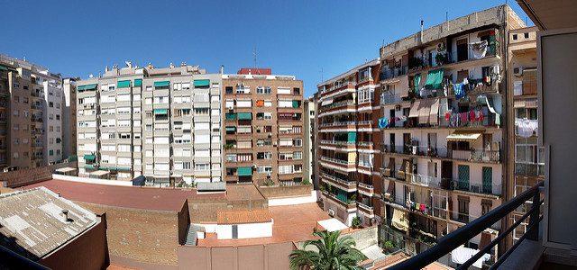 Barcelona apartment buildings