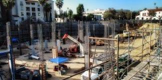 california construction site