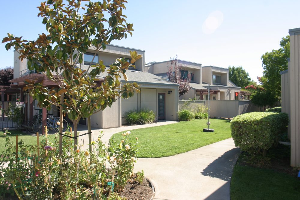 A home at the Dos Pinos Housing Cooperative, the only limited-equity housing co-op in Davis, California. When this California housing cooperative began more than 30 years ago, it wasn't the most affordable place to live. But now, it is.