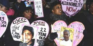 mothers of police shooting victims