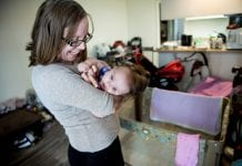 Alicia Spradlin and her daughter Faith live in apartments that have been set-aside for UnitedHealthcare Community Plan members.