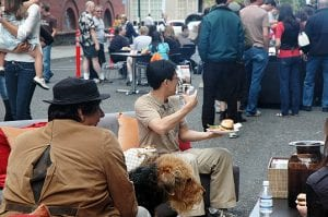 A block party can help combat loneliness.