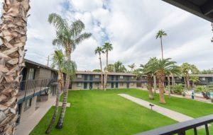 The Residences at Camelback West is walking distance to The Palms. Together the two apartment communities have 500 units for health care users.