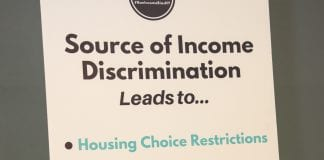 """Landlords commonly refuse to rent to voucher holders, a practice known as """"source of income discrimination."""""""