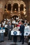 supporters of ban income bias bill