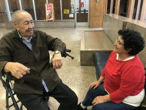 Maria and Robert of California face eviction after losing their court case. The couple joined a rent strike after their rent at Burlington Apartments was increased by more than $400 a month despite buildingwide issues, like hot water that shuts off daily.