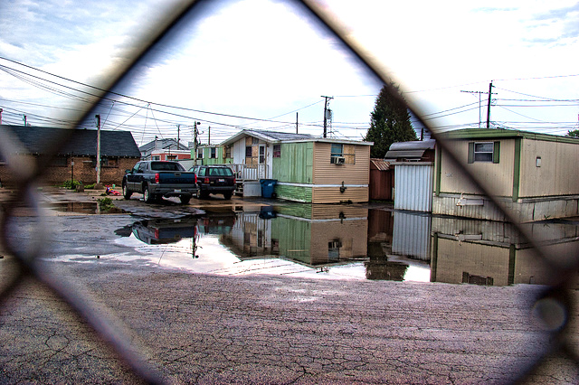 mobile home parks don't have equal access to transportation, jobs, and other resources.