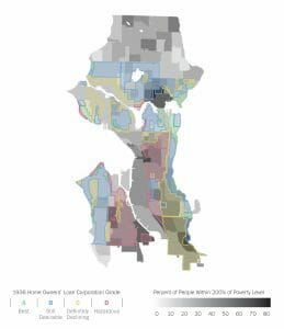 Seattle's growing disparities are visible in the city's geography of low income households and communities of color. Residents are being displaced.