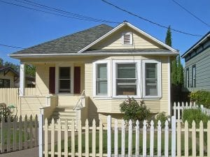 A single-family rental home.