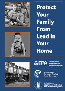 lead paint brochure