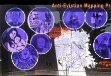 anti-eviction mural
