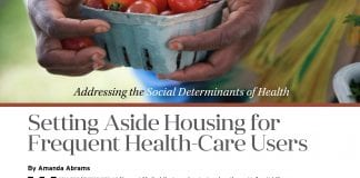 In the second Health and Community Development supplement, we focus on utility service termination and setting aside housing for frequent health-care users.