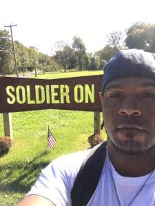 Veteran Anthony Wilson recently moved into his new home in the Gordon H. Mansfield Veterans Community in Agawam, Massachusetts, a cooperative that is home to formerly homeless vets.