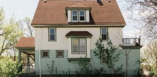State policies on everything from taxation to land bank funding can make the difference between a vacant property and a well-care-for property like this one in Milwaukee, Wisconsin.