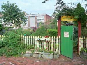 The property was part of a land bank in Pittsburg. he Olde Allegheny Garden in Pittsburgh, Pennsylvania.