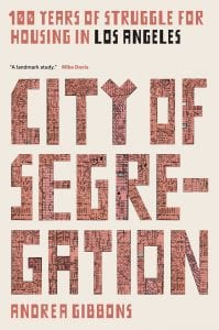 cover of City of Segregation by Andrea Gibbons