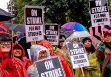 L.A teachers strike