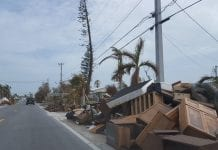 Big Pine Keys was hit hard by Hurricane Irma. More that 700 buildings, mostly homes, were destroyed or severely damaged.