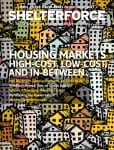 The cover of the Winter 2019 edition of Shelterforce magazine, which focuses on housing markets.