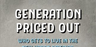 The cover of Generation Priced Out by Randy Shaw.