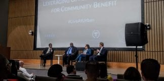 A panel discussion about Opportunity Zones in Chicago.