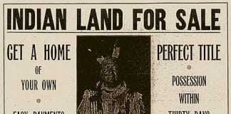 Land sale poster c. 1910