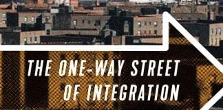 The cover of The One-Way Street of Integration by Edward Goetz.